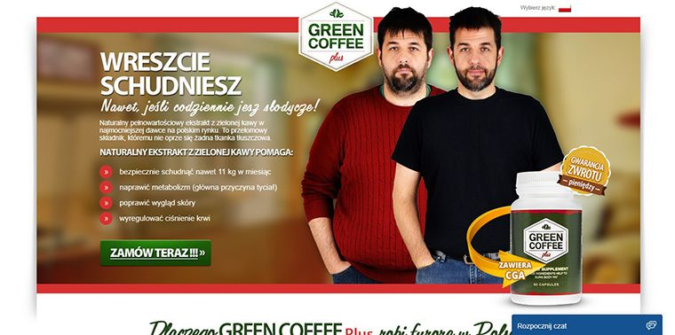 Platforma Green Coffee Plus